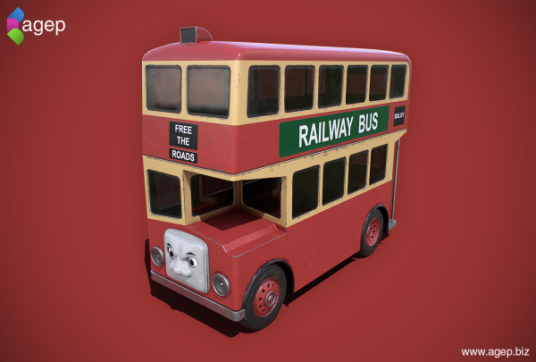 Bulgy the Railway Bus