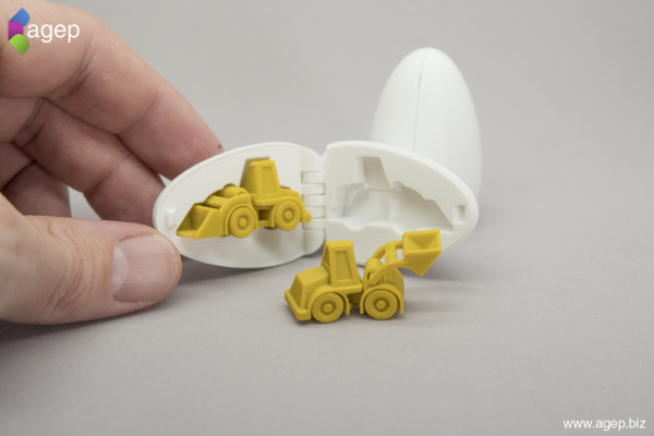 3D Printable Surprise Egg